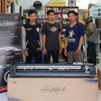 Mesin Cutting Jinka NXL PRO 1351 LED | As Medan | Alat Sablon Medan