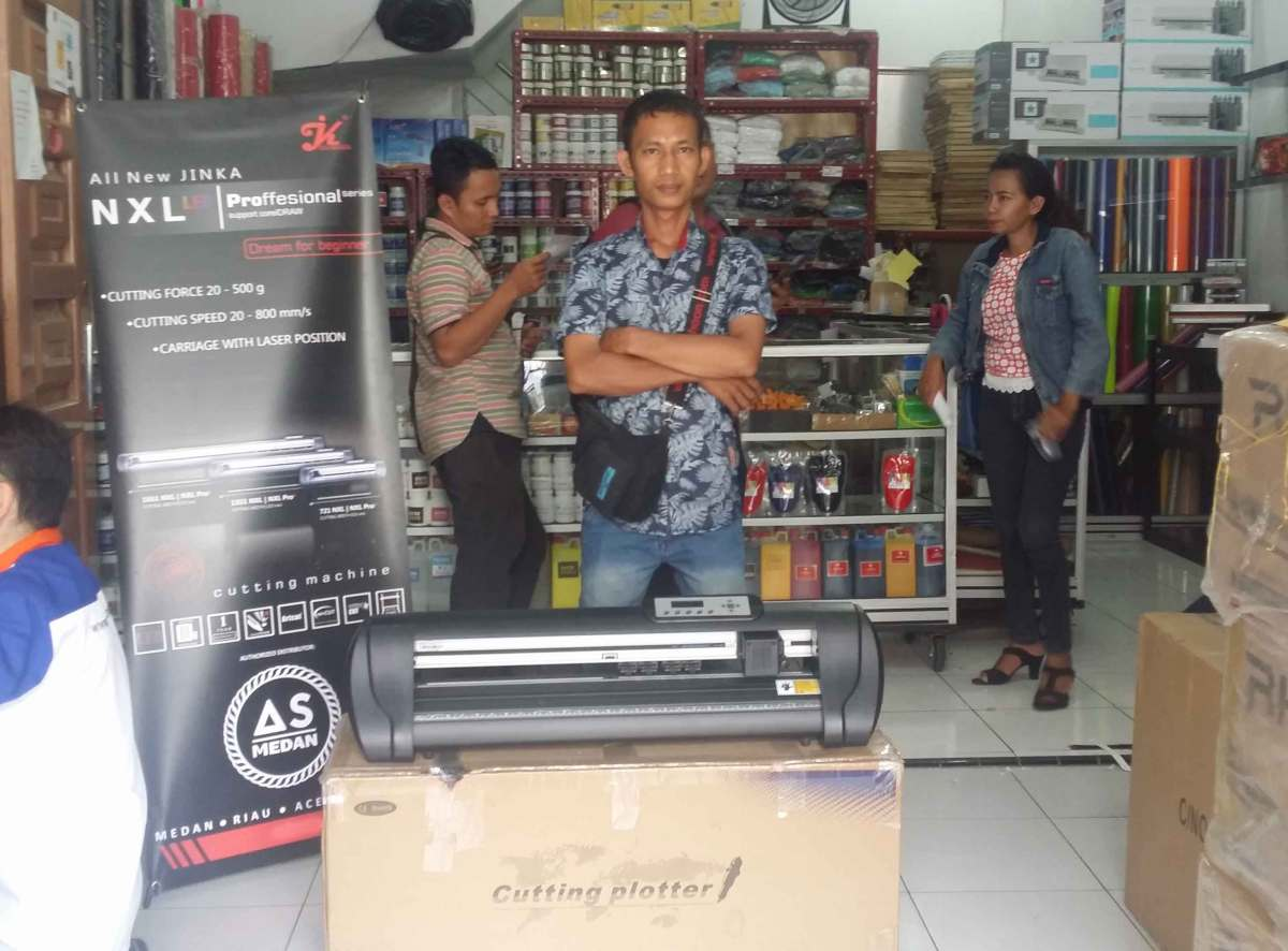 Mesin Cutting Jinka NXL PRO 721 LED   As Medan   Alat Sablon Medan