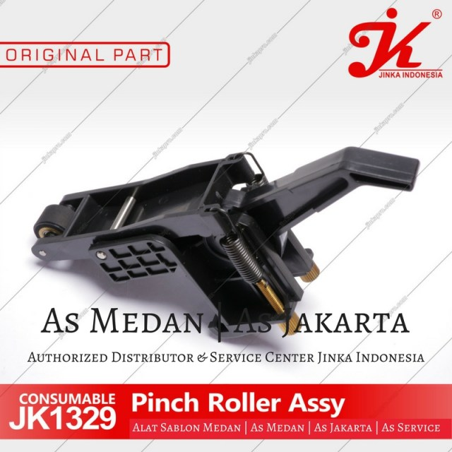 Pinch roller mesin cutting sticker jinka