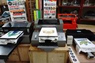 DISTRO SPIDER Series (I,II,II), Mesin Printer DTG Full Color