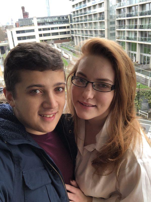 Alec and Emily Selfie