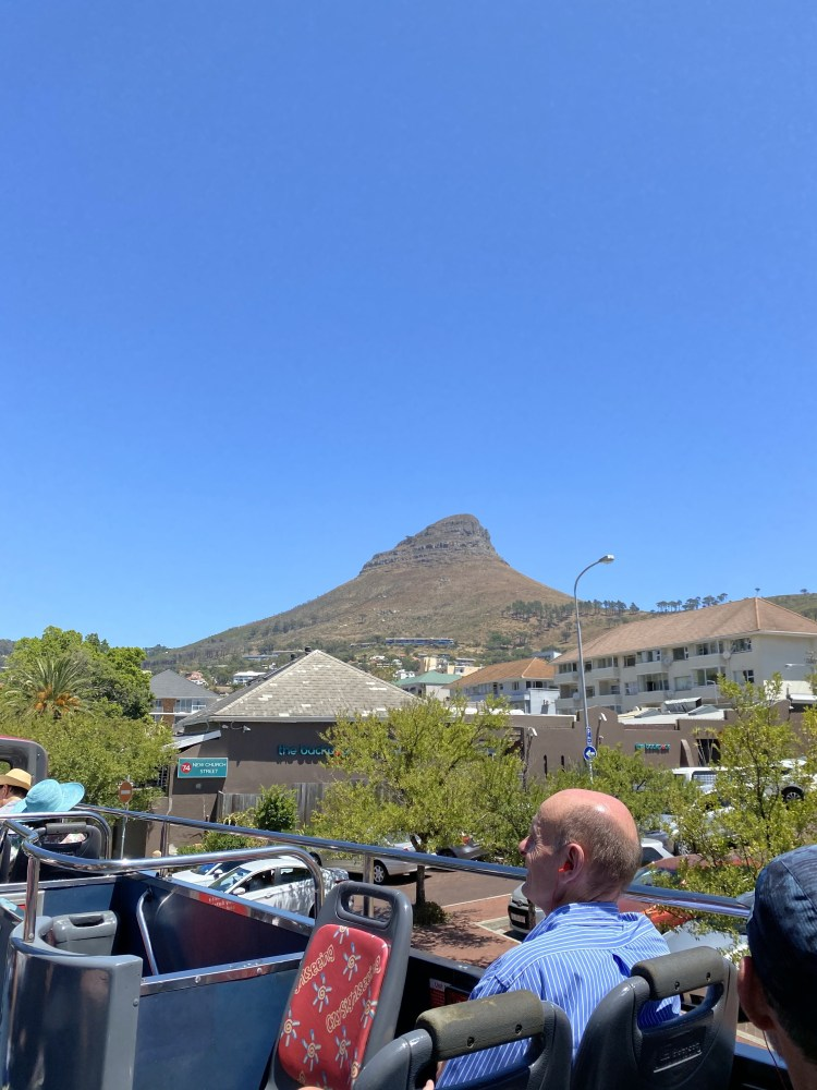 Lions Head from the CitySightseeing Bus