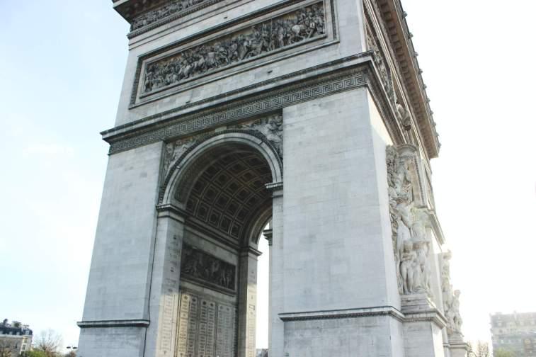Frankreich-Paris-Arc-de-triomphe