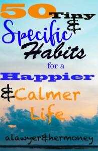 calming habits