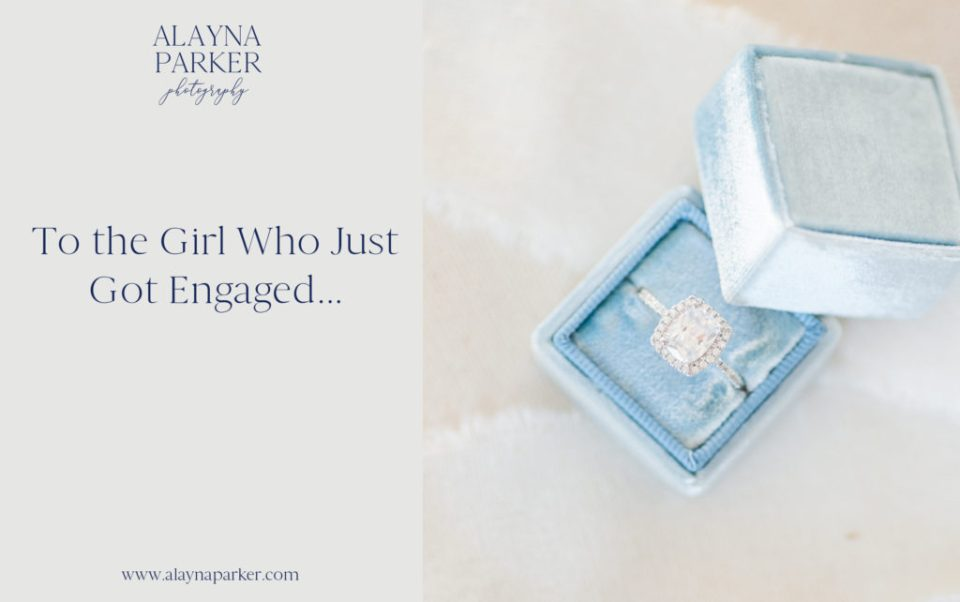 Header image for blog post by Columbus wedding photographer, Alayna parker, about tips to the girl who just got engaged during COVID-19 pandemic