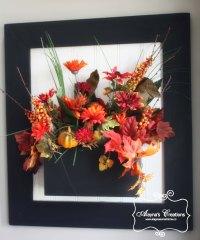 Fall Window Box Wall Decor | alaynascreations
