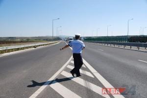 politist autostrada