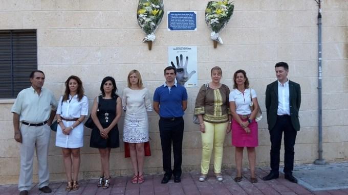 Homenaje a Miguel Ángel Blanco en el décimo octavo aniversario de su muerte