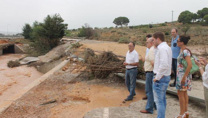 La Junta mantendrá activado el PRICAM en fase de alerta tras las inundaciones en Almansa
