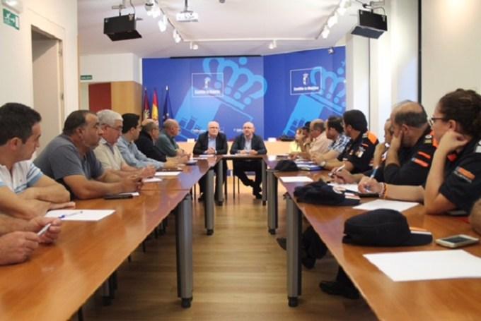 La Junta impulsará un Registro de Agrupaciones de Protección Civil y nuevos protocolos para el PLATECAM