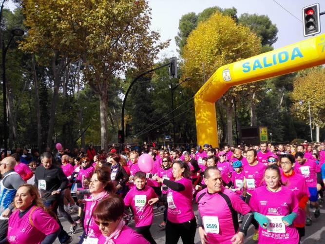 AMAC volverá a teñir de rosa las calles de Albacete con su X Carrera por la Salud