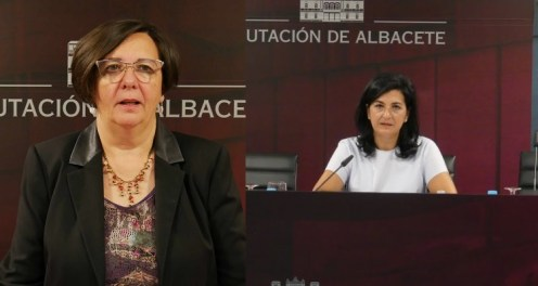 Victoria Delicado y Francis Rubio, portavoces de Ganemos IU y Ciudadanos, respectivamente.