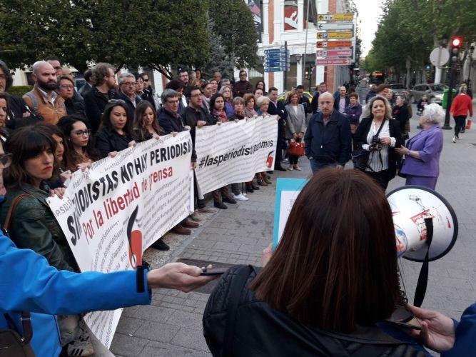 Los periodistas de Albacete reivindican su libertad