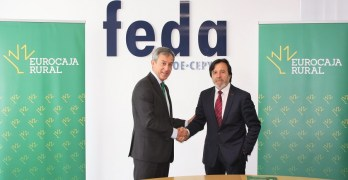 """FEDA y Eurocaja Rural,  juntos para """"reforzar"""" la formación del tejido empresarial de Albacete"""