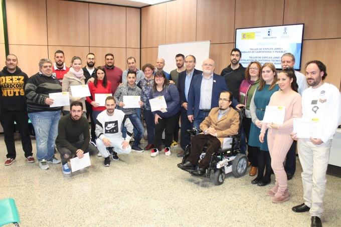 El Plan Extraordinario y el Programa Garantía + 55  han beneficiado a 2.508 personas en Albacete capital