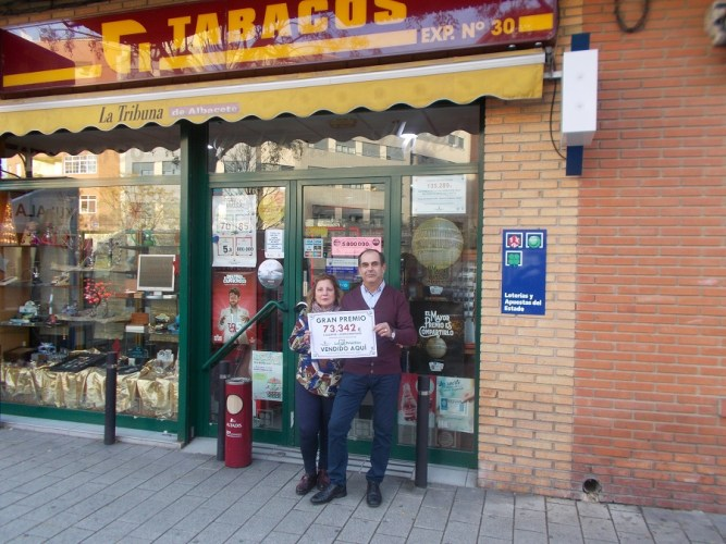 La Lotería Primitiva deja de 73.342 euros en Albacete capital