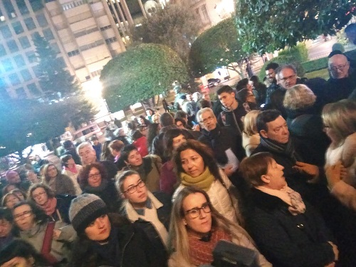 FOTOS y VIDEO | 'Ni un paso atrás en igualdad', la indignación con Vox llega a Albacete