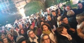 FOTOS y VIDEO   'Ni un paso atrás en igualdad', la indignación con Vox llega a Albacete