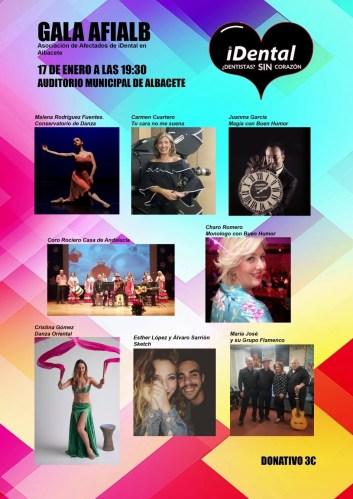 Una gala a beneficio de los afectados de iDental en Albacete