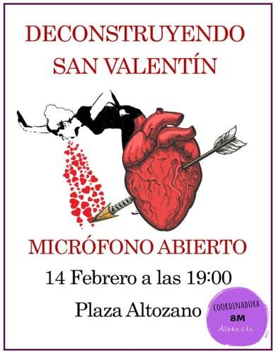 'Decostruyendo San Valentín', una cita para romper con los mitos en torno al amor romántico