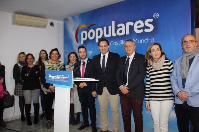 """Núñez cree que el PP revalidará la Alcaldía de Caudete por la """"juventud y empuje"""" del candidato"""