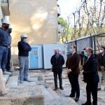 Comienzan las obras de la antigua Comisaría del Paseo Simón Abril que durarán 15 meses