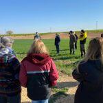 150 plantas autóctonas pueblan desde este sábado la Cañada Real de Villar de Pozorrubio