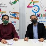 Afanion y Albacete Basket firman un convenio para visibilizar a ambas entidades