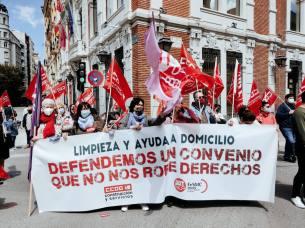 Manifestación por el Día del Trabajo / Fotografía: UGT