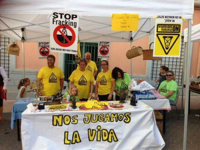mesa ciudadana contra el fracking+