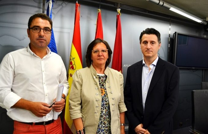 Foto RP PSOE, Ganemos y concejal no adscrito
