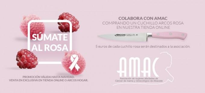 cuchillo rosa arcos