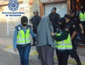 Imágenes del Ministerio del Interior.