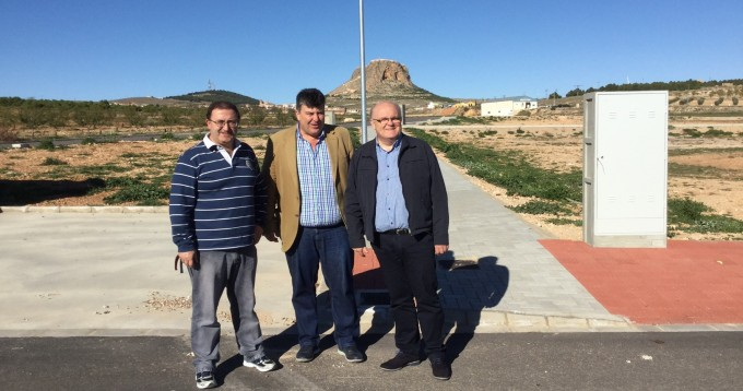 VISITA JCCM ALBACETE- ZONA INDUSTRIAL PEÑAS DE SAN PEDRO