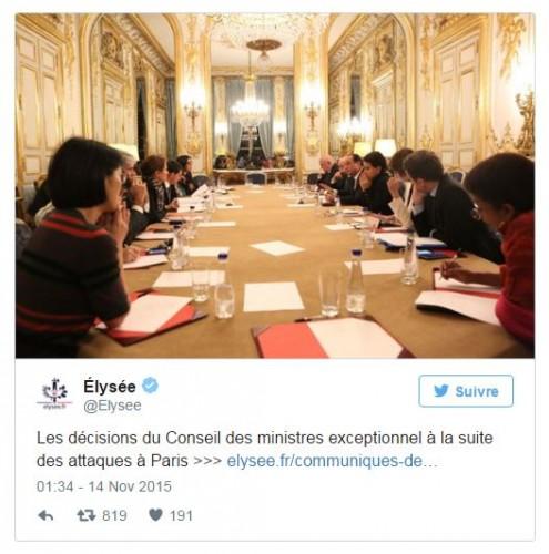 consejo de ministros frances