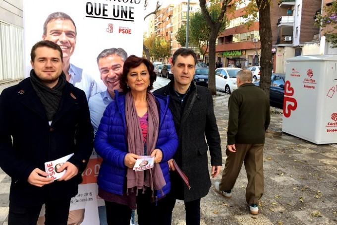 Foto PSOE AB (Mesa Informativa Barrio El Pilar)