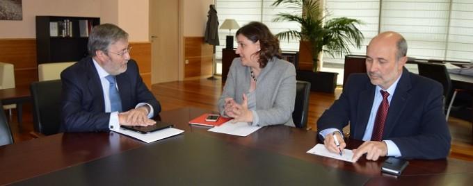 Foto Visita consejera Alfredo García Aránguez Elcogas