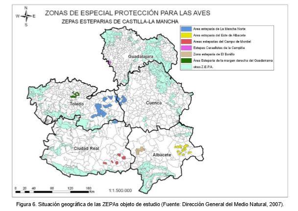 zonas eteparias con viñedo afectadas