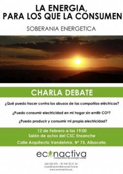 Cartel CHARLA Albacete