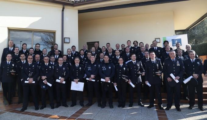 Distinciones especialista policía DOCM