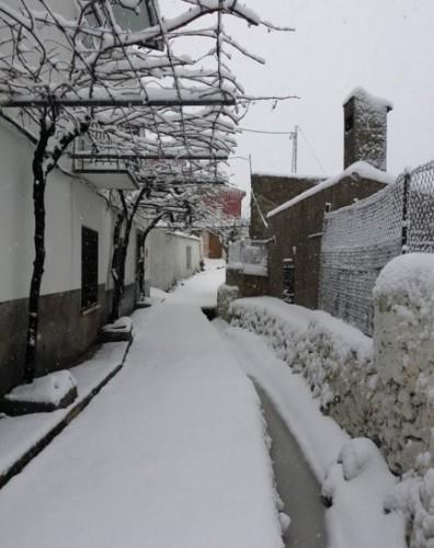 Nieve en Riópar 1