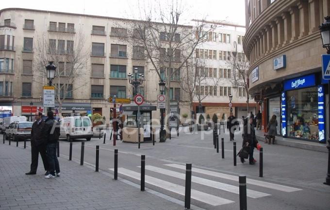 calle rosario peatonalizacion