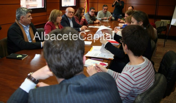 Imagen de la primera Comisión de Seguimiento de la Oficina de Intermediación Hipotecaria del pasado mes de febrero.