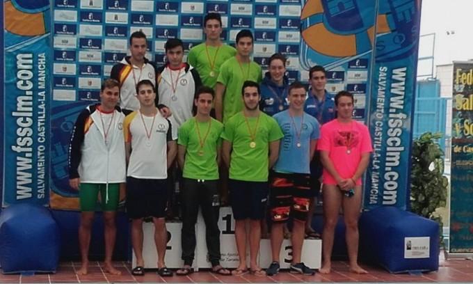 natacion podio