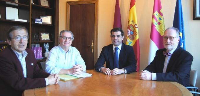 Foto.Reunión Asociación Cultural Albacete en Madrid.23-3-16