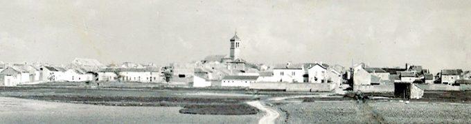 Panorámica antigua Villamalea. Imagen cedida por Marceliano Collado.