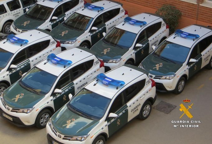 coches nuevos guardia civil