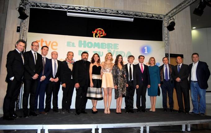 foto inauguración festival televisión