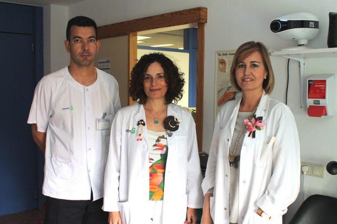 FOTONOTASANIDAD. Premio oftalmólogos Albacete