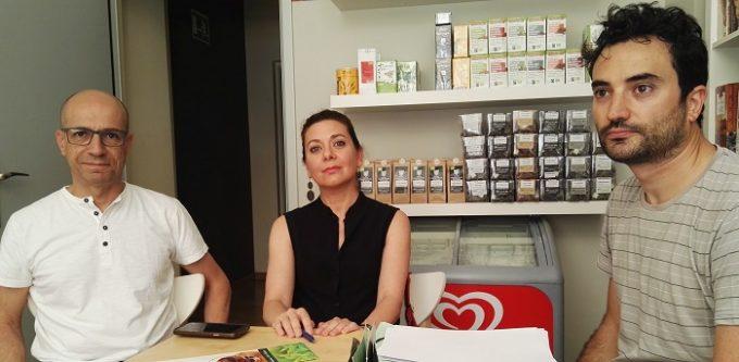 Javier Sánchez, Beatriz Pestaña y Sergio López